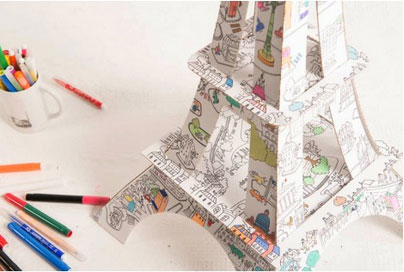 Tour-eiffel-a-colorier