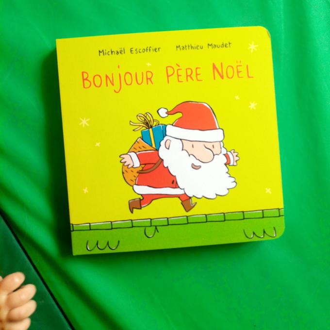 Bonjour p re no l un livre pour enfant de l 39 cole des - Calecon pere noel ...