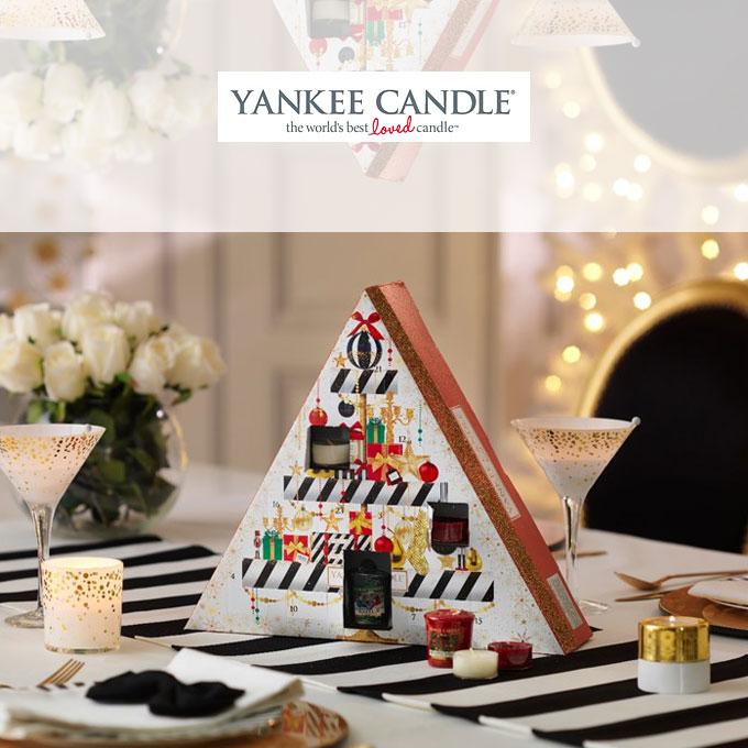 le calendrier de l 39 avent 2016 aux senteurs hivernales de yankee candle plus de mamans. Black Bedroom Furniture Sets. Home Design Ideas