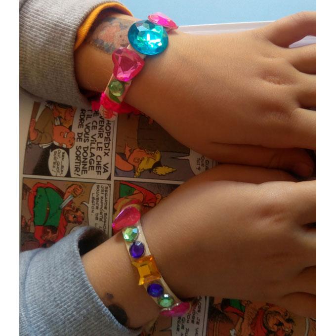 bracelet baton glace