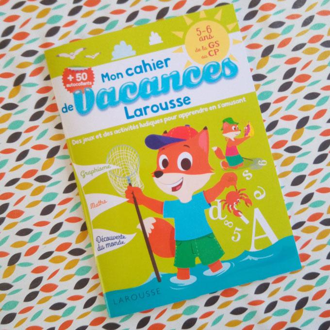 cahier vacances larousse
