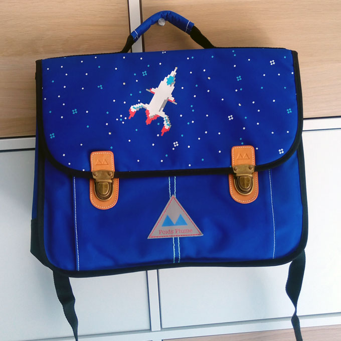 cartable poids plume fusee
