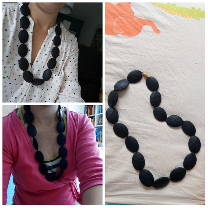collier noir 1