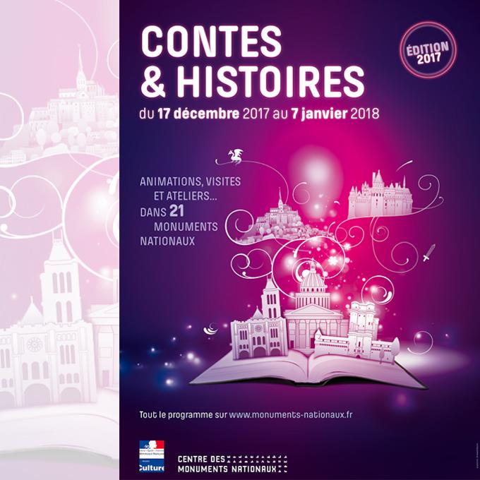 sortie de noel en famille 2018 Contes & Histoires à Noël dans les monuments nationaux, du 17  sortie de noel en famille 2018