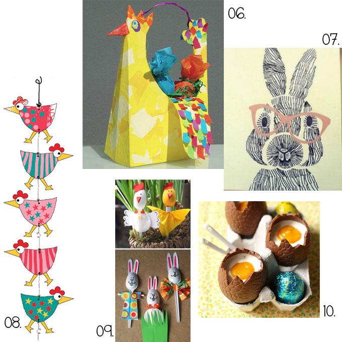 diy et activit s manuelles pour p ques des chocolats des oeufs des lapins des poules. Black Bedroom Furniture Sets. Home Design Ideas