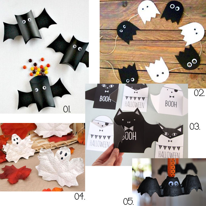 diy des activit s manuelles pour halloween plus de. Black Bedroom Furniture Sets. Home Design Ideas