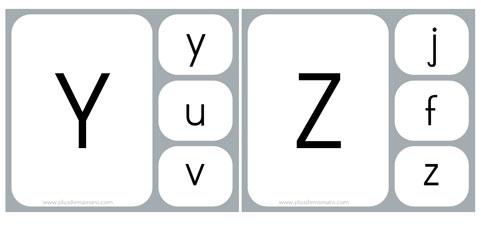 lettre masjuscule script z - Lettre Majuscule A Imprimer
