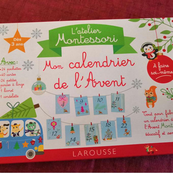 Mon atelier Montessori calendrier de l'avent [Editions Larousse
