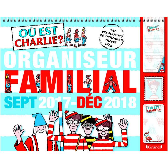 organiseur familial charlie
