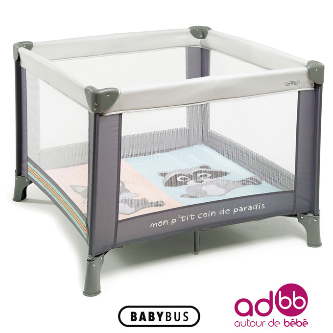 le parc filet diabolo de babybus avec adbb autour de b b plus de mamans. Black Bedroom Furniture Sets. Home Design Ideas