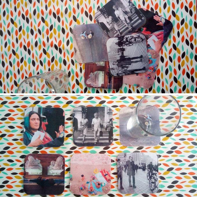 photos sous verre