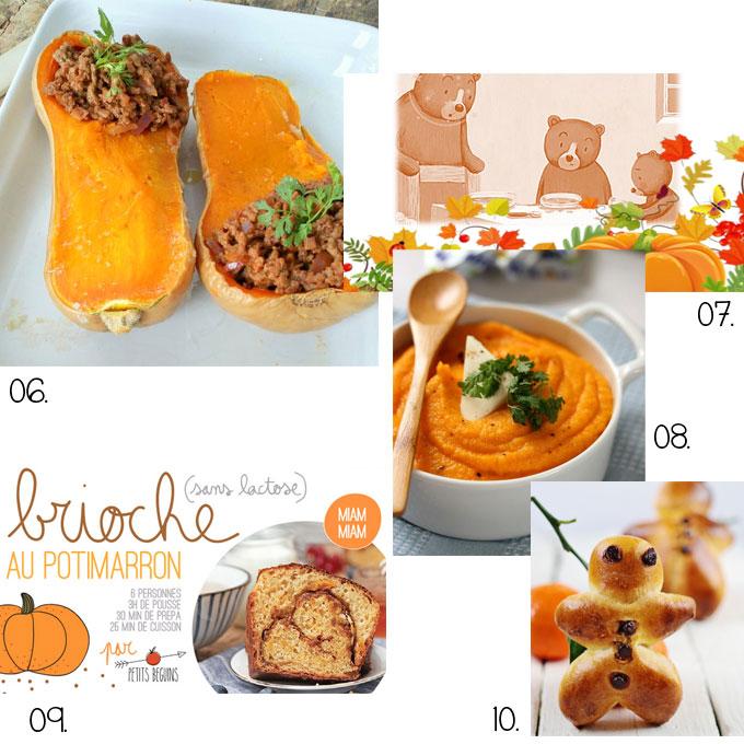 Recette automne enfants 2 plus de mamans Cuisine pour les petit