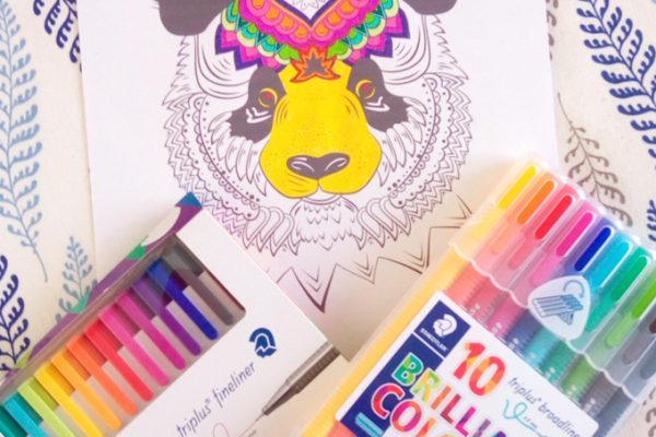 staedtler coloriage