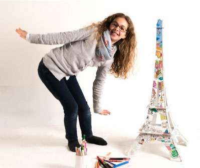 tour-eiffel-colorier